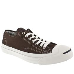 Converse Male J Purcell Fabric Upper in Brown
