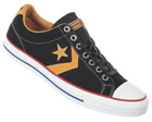 Star Player EV OX Black/Gold Suede