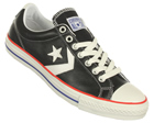 Star Player EV OX Black/White Leather