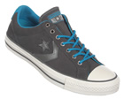 Star Player EV OX Charcoal Suede Trainers