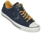 Star Player EV OX Navy Suede Trainers