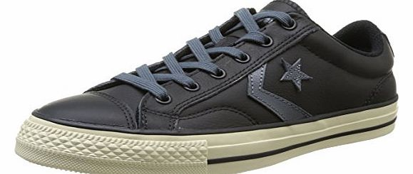 d4074a6f5ad Unisex-Adult Star Player Tonal Leather Trainers