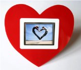 Cooltronics Valentines Day Red Heart Shaped 2.3` Digital Photo Frame product image