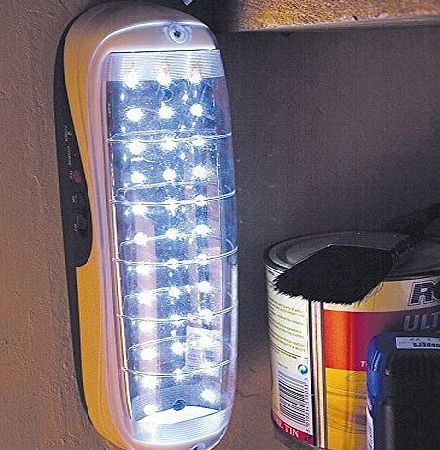 Coopers of Stortford Cordless Emergency Backup Rechargeable LED Light