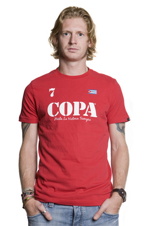 COPA Fashion Range  COPA Hasta la Victoria Siempre T-Shirt // Red product image