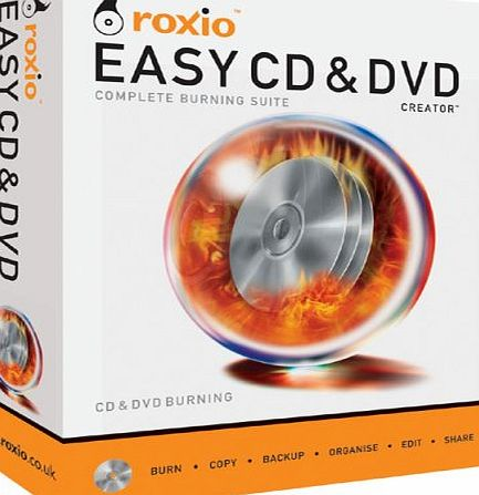Corel Roxio Easy CD amp; DVD product image