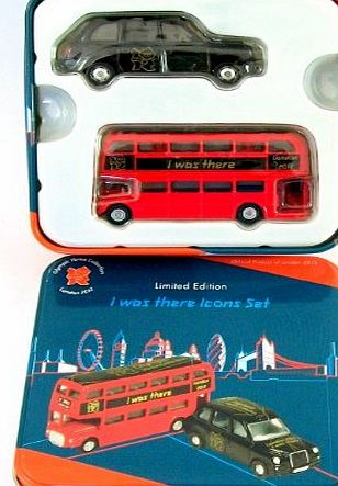 Corgi Bus and Taxi London ``1 was there`` icon 2012 Olympic Corgi limited edition