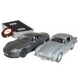 James Bond Casino Royale Limited Edition Aston Martin DB5 and DBS in Briefcase...