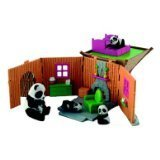 Jungle In My Pocket Panda Hut Playset