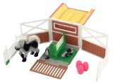 Pony In My Pocket Show Jump Fold out playset includes exclusive Pony Mum and Babies Quarab family and show jumping accessories.