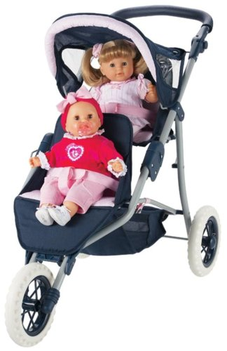 Chicco Doll Stroller Corolle Twin Jogging Doll Stroller