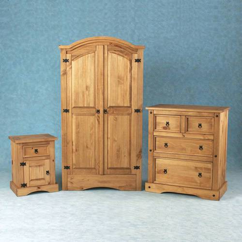 Corona Mexican Pine Furniture Corona Pine Bedroom Set