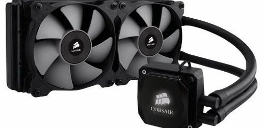 Corsair Hydro Series H100i All-In-One 240mm Digital High Performance Rad Liquid Cooler for CPU
