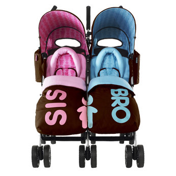 Cosatto Twin Stroller - Sis and Bro - review, compare prices, buy ...