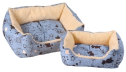 Scatty Cat Kalahari Bed - Blue:Medium