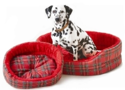 Tartan Superbed - Red (18``)