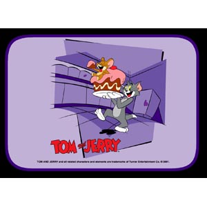 Purple Tom and Jerry Sunshade