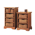 Farmhouse Pair 3 drw chest nat