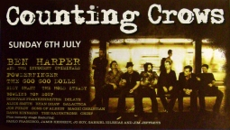Hyde Park 6th July 2008 Music Poster