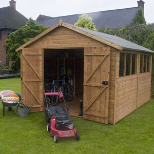 The County Store provides cavernous storage for all garden and household equipment. It features 8ft  - CLICK FOR MORE INFORMATION