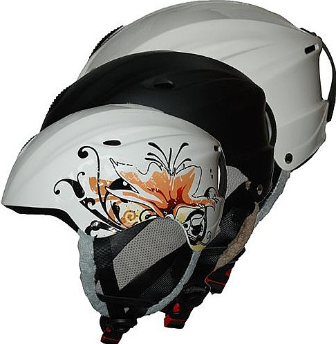 Cox Swain  ski snowboard helmet PILOT, adjustable, Colour: Black, Size: M product image