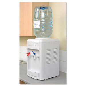 CPD Water Cooler Dispenser Table Top White Ref