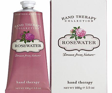 Rose Water Hand Therapy Cream,