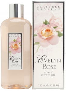 CRABTREE and EVELYN EVELYN ROSE BATH and SHOWER