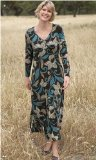 Penny Plain - Chocolate 18long Fern Dress