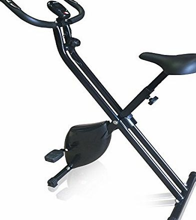 CRAVOG 1.6kg Exercise Upright Magnetic Cycling Bike Fitness Machine Foldable