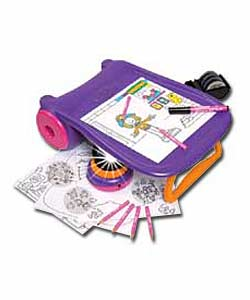 Crayola Creations Groovy Graphix Projector Colouring In