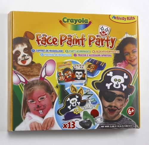 Crayola Face Paint Party Kit