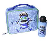 F-868 // Сумочка для завтраков с Crazy Frog (LUNCH BOX)