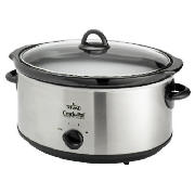 Crock Pot 6.5L S/S Slow Cooker