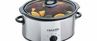 Crock Pot Crock-Pot 3.5L Slow Cooker Polished Stainless Steel Finish product image