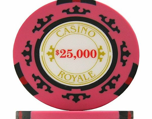 Poker chip colour values uk