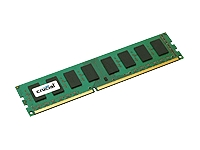 CRUCIAL 2GB 240-pin DIMM DDR3 PC3-10600 NON-ECC product image