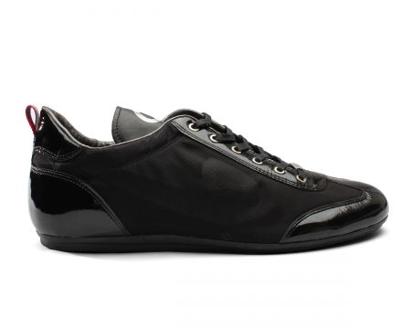 Vicenzo Black Sheer Trainers