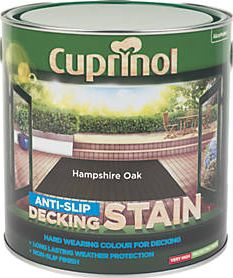 Cuprinol, 1228[^]84813 Anti-Slip Decking Stain Hampshire Oak