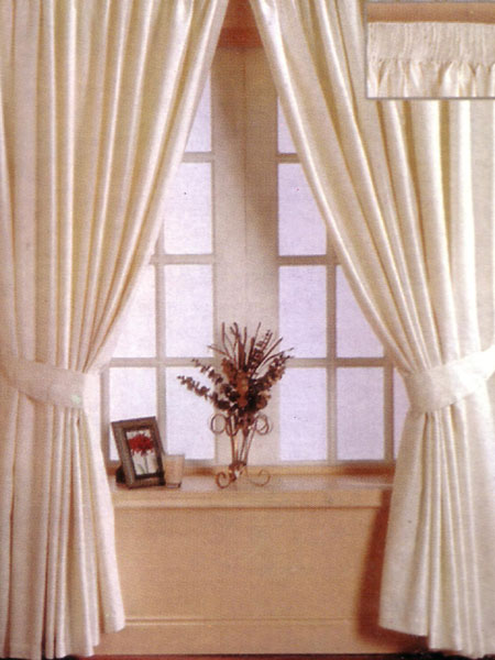 Roma Collection Florence Design Fully Lined Curtains 46x54