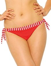 Curvy Kate, 1295[^]180636 Horizon Tie Side Brief - Red Stripe