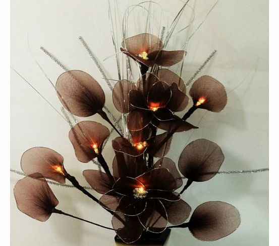 CUSHIONMANIA Artificial Flower Arrangement With Electric