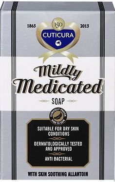 Cuticura, 2041[^]10039614 Mildly Medicated Soap 100g 10039614