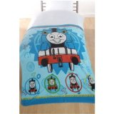 DAC Direct Thomas The Tank Engine TRACK STAR Fleece throw blanket 125 x 150 cm product image
