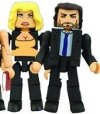 Battlestar Galactica Minimates Wave 2 Vice President Baltar and Caprica Six