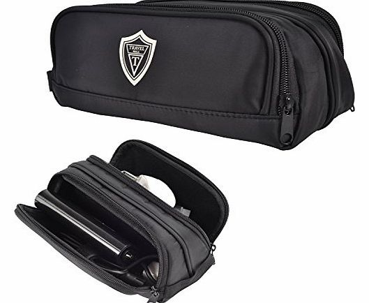 Black Universal Carry Case / Electronics Accessories Travel Organizer