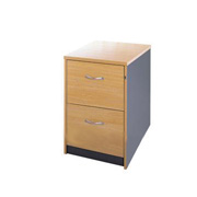 Dame Ouzo 2-Drawer Filing Cabinet product image