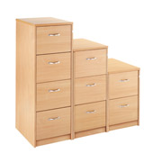 Dams Largo 4-Drawer Filing Cabinet product image