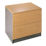Dams Ouzo 2-Drawer Side Filing Cabinet product image