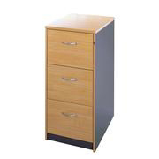 Dams Ouzo 3-Drawer Filing Cabinet product image